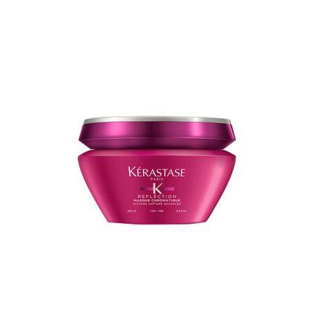 Masca de par Kerastase Reflection Chromatique  pentru păr fin, colorat sau evidențiat , 200 ml
