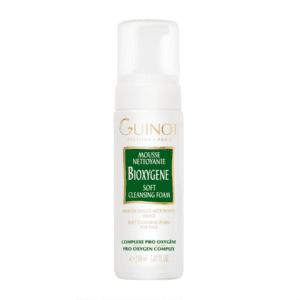 Spuma de curatare Guinot Bioxygene Mousse cu efect de oxigenare pentru toate tipurile de piele, 150 ml